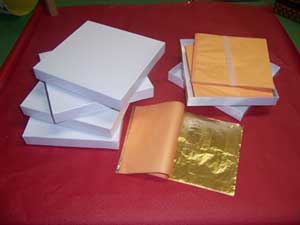 gilding supplies gold leaf